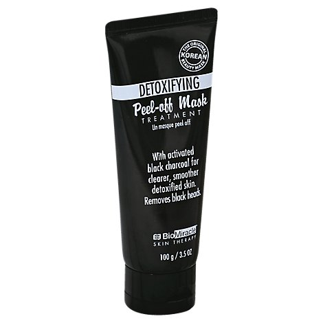 Biomiracle Detoxifying Charcoal Peel Off Mask - 3.5 Fl. Oz.