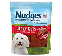 Nudges Dog Treat Steak Jerky - 10 Oz