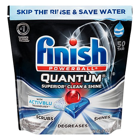 Finish Quantum - 50 Count