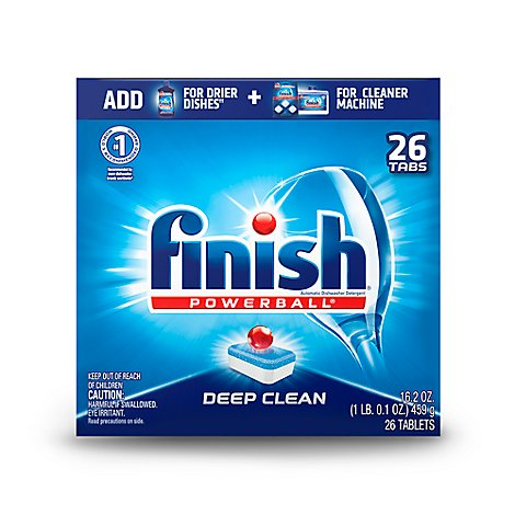 Finish Powerball Fresh Scent - 26 Count