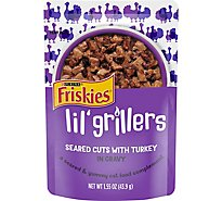 Purina Friskies Lil Grillers Turkey In Gravy Cat Food - 1.55 Oz