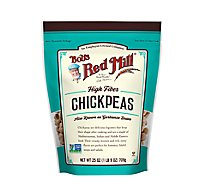 Bobs Red Mill Chickpeas High Fiber - 25 Oz