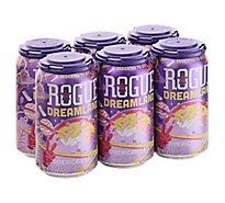 Rogue Dreamland Lager In Cans - 6-12 Fl. Oz.