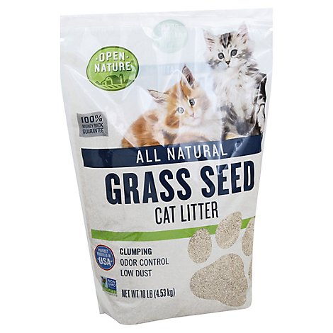 Open Nature Cat Litter Grass Seed - 10 Lb