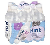 hint Water Infused With Blackberry - 6-16 Fl. Oz.