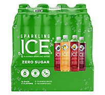 Sparkling Ice Green Variety Pack 17 Fl Oz 12 Count Black Raspberry Orange - 204 Fl. Oz.