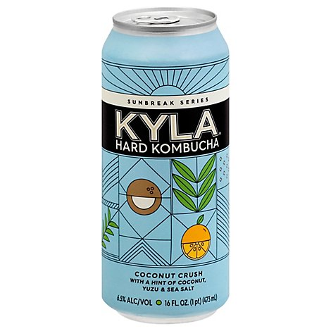 Kyla Hard Kombucha Sunbreak 1 Coconut Blue Crush In Cans - 16 Fl. Oz.
