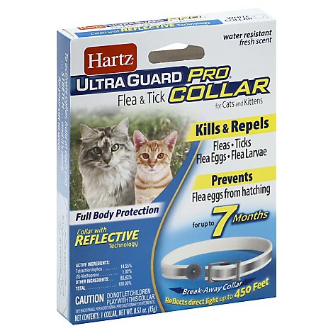 Hartz Ultra Guard Pro Cats And Kittens Collar Flea & Tick - 1 Count