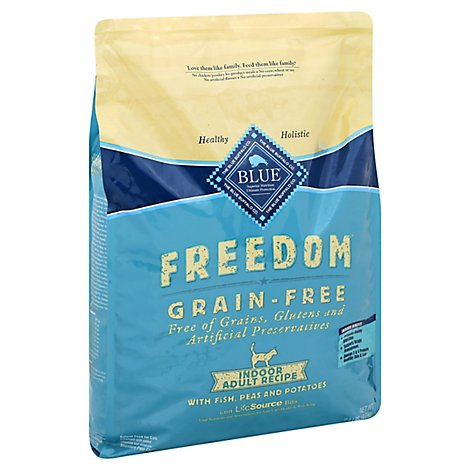 Blue Buffalo Freedom Fish Adult Cat Food - 9.5 Lb