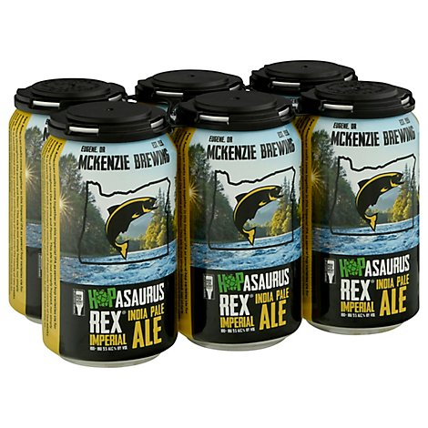 Mckenzie Brewing Hopasaurus Rex Imperial Ipa In Cans - 6-12 Fl. Oz.