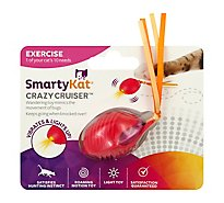 SmartyKat Crazy Cruiser Cat Toy - Each