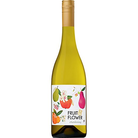 Fruit & Flower Chardonnay Wine - 750 Ml