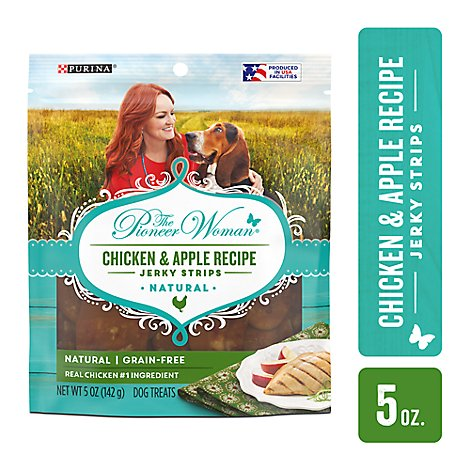 The Pioneer Woman Dog Treats Chicken & Apple Recipe - 5 Oz