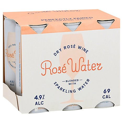 Rose Water Wine - 6-250 Ml