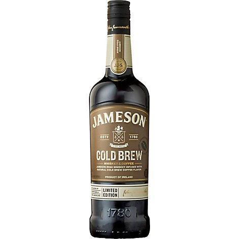 Jameson Cold Brew Irish Whiskey & Coffee - 750 Ml