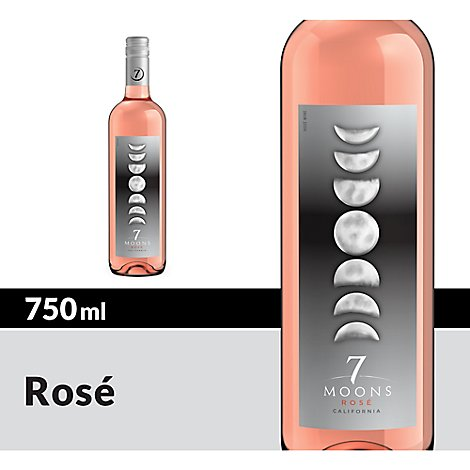 7 Moons Wine Rose - 750 Ml