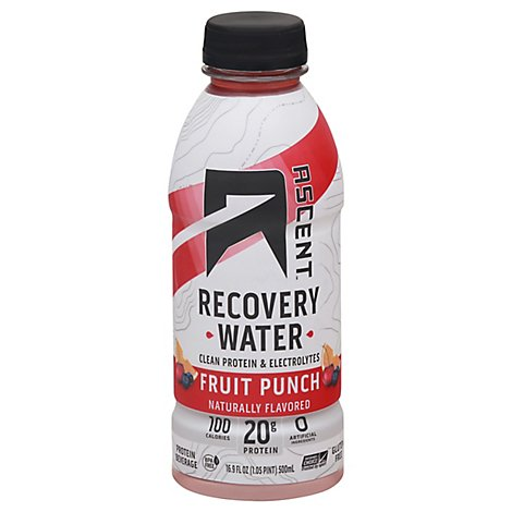 Ascent Recovery Water Fruit Pnch - 16.9 Fl. Oz.
