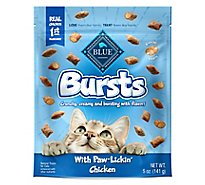 Blue Buffalo Bursts Filled Cat Treats Chicken - 5 Oz