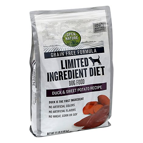 Open Nature Dog Food Duck & Sweet Potato - 11 Lb