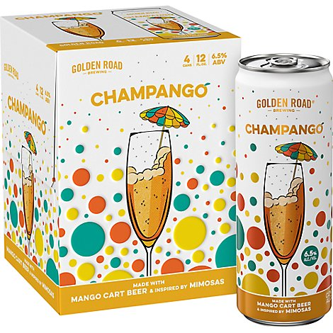 Golden Road Champango In Cans - 4-12 Fl. Oz.