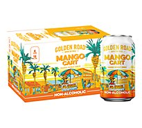 Golden Road Mango Cart Non Alcoholic In Cans - 6-12 Fl. Oz.
