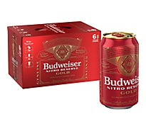 Budweiser Nitro Lager In Cans - 6-12 Fl. Oz.