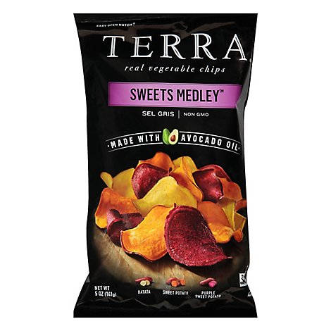 Terra Chips Sweet Medley Chips Avocado Oil - 5 Oz
