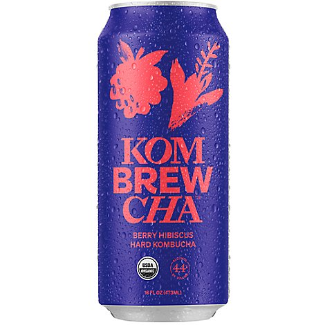 Kombrewcha Berry Hibiscus In Cans - 16 Fl. Oz.