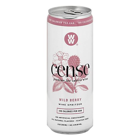 Cense Wild Berry Can Wine - 355 Ml