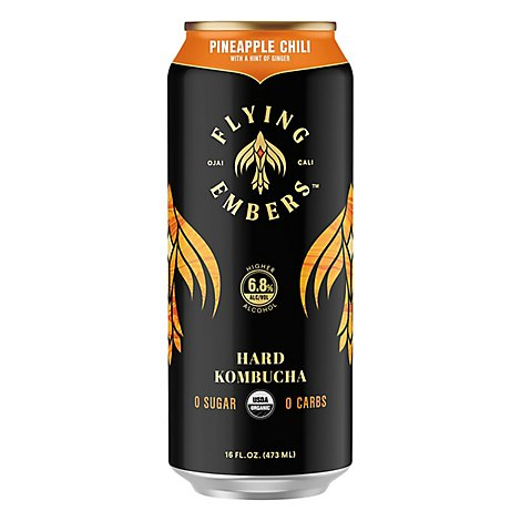 Flying Embers Pineapple Chili In Cans - 16 Fl. Oz.