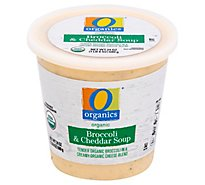 O Organics Soup Broccoli Cheddar - 24 Oz