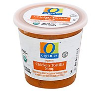O Organics Soup Chicken Tortilla - 24 Oz