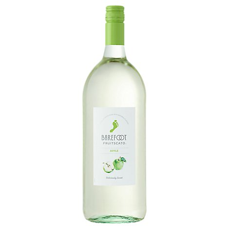Barefoot Fruitscato Moscato Wine Apple - 1.5 Liter