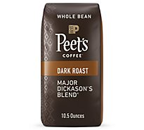Peets Major Dickasons Blend Whole Bean Coffee - 10.5 Oz