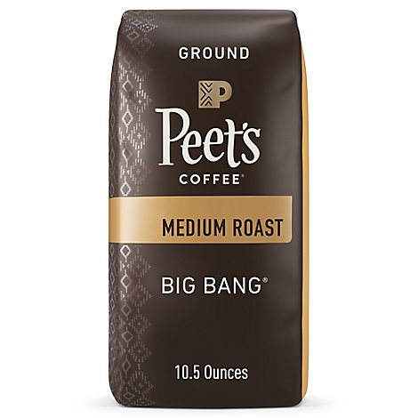 Peets Big Bang Ground Coffee - 10.5 Oz