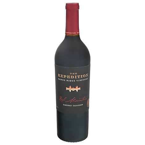 Canoe Ridge Expedition  Red Mt Cab Win - 750 Ml