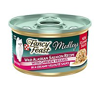Purina Fancy Feast Medleys Wild Alaskan Salmon Cat Food - 3 Oz