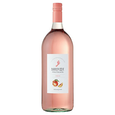 Barefoot Fruitscato Moscato Wine Peach - 1.5 Liter