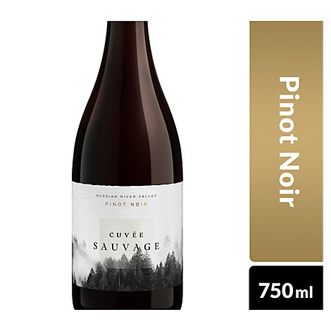 Cuvee Sauvage Pinot Noir In Bollles - 750 Ml