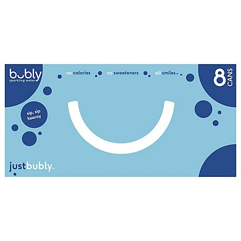 Bubly Justbubly Sparkling Water Cab - 96 Fl. Oz.