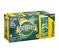 Perrier Sparkling Pineapple - 10-8.45 Fl. Oz.