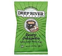 Deep River Zesty Jalapeno Kettle Cooked Potato Chips - 2 Oz.