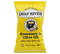 Deep River Rosemary & Olive Oil Kettle Cooked Potato Chips - 2 Oz.