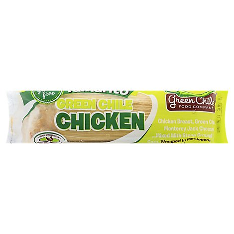 Green Chile, Green Chile Chicken Tamarito - 6 Oz