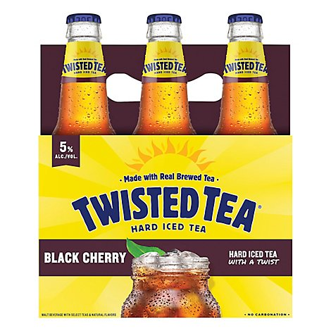 Twisted Tea Black Cherry 6pk In Bottles - 6-12 Fl. Oz.