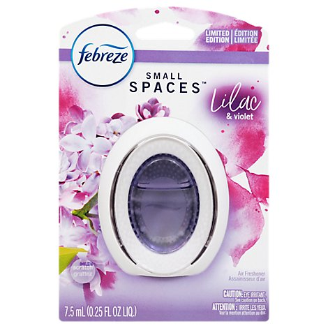 Febreze Small Spaces Air Freshener Lilac & Violet, 1 Count - .25 Fl. Oz.