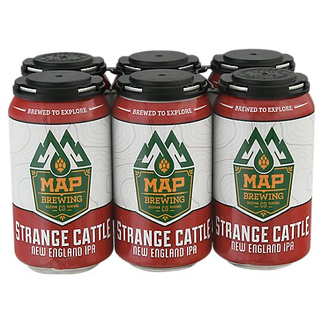 Map Brewing Strange Cattle Ipa - 6-12 Fl. Oz.