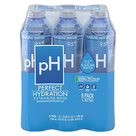 Perfect Hydration Water Alkaline Elect 6pk - 202.8 Fl. Oz.