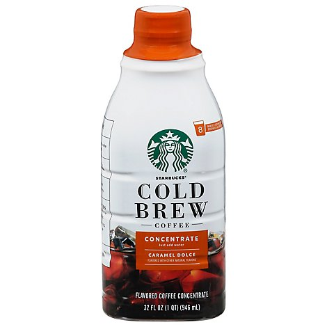 Starbucks Cold Brew Medium Caramel Coffee - 32 Fl. Oz.