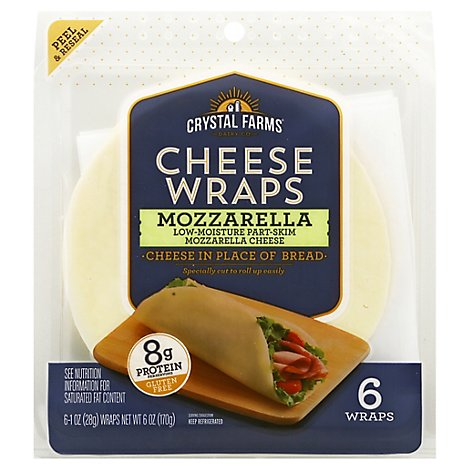 Mozz Cheese Wraps - 6 Oz